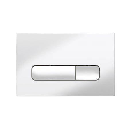 Bauhaus Atoll Chrome Flush Plate - ATFLUSHC