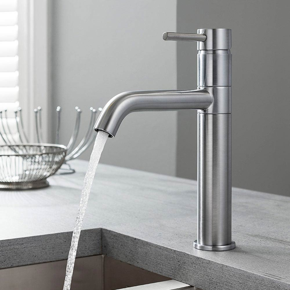 Crosswater Design Single Lever Kitchen Mixer - Stainless Steel - DE716DS  Profile Large Image