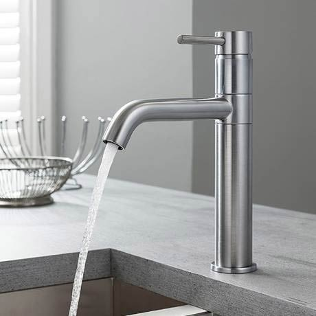 Crosswater Design Stainless Steel Kitchen Mixer Tap | Our Top 5 Kitchen Mixer Taps for On-trend Spaces