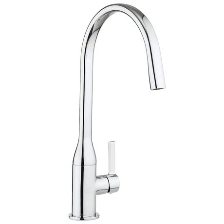 Crosswater Svelte Side Lever Kitchen Mixer - SE714DC