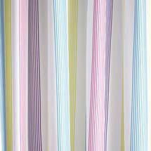 Croydex - Fresh Stripes Textile Shower Curtain - W1800 x L1800mm - AF288515 Medium Image