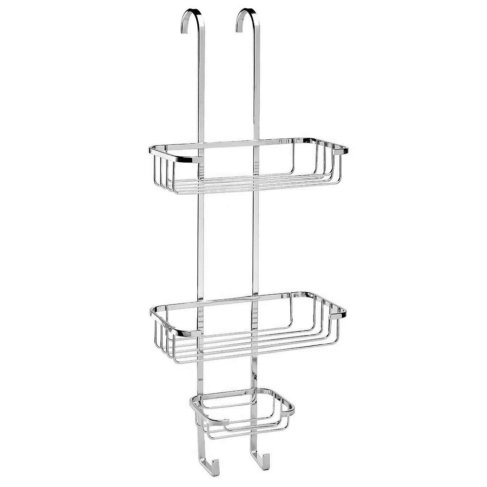 Croydex Hanging Shower Cubicle Tidy - 3 Tier Large Image