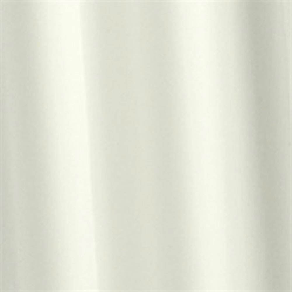 Croydex Ivory Plain PVC Shower Curtain W1800 x H1800mm - AE100017 Large Image