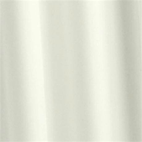 Croydex Ivory Plain PVC Shower Curtain W1800 x H1800mm - AE100017