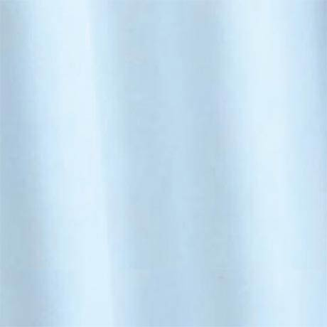 Croydex Light Blue Textile Shower Curtain W1800 x H1800mm - AF159084