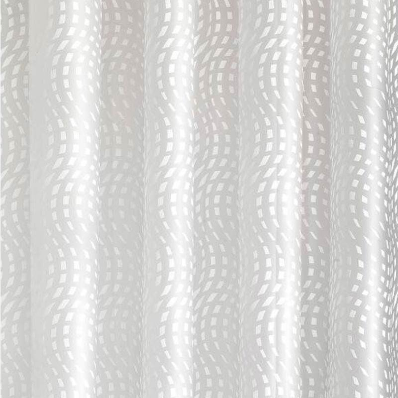 Croydex Mosaic Wave PEVA Shower Curtain W1800 x H1800mm - AE287522 Large Image