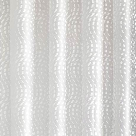 Croydex Mosaic Wave PEVA Shower Curtain W1800 x H1800mm - AE287522