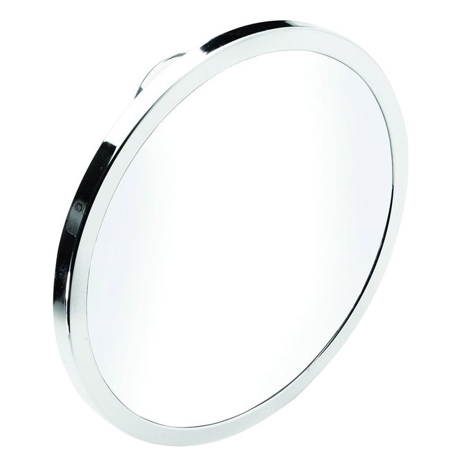 Croydex - Twist N Lock Plus Anti-Fog Acrylic Mirror - Chrome - QM371041 Large Image