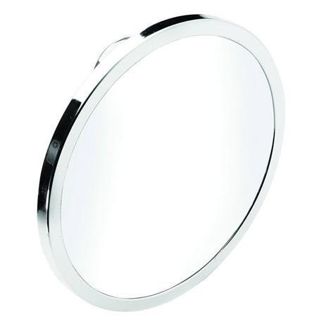 Croydex - Twist N Lock Plus Anti-Fog Acrylic Mirror - Chrome - QM371041