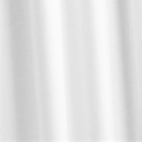 Croydex White Textile Shower Curtain W1800 x H1800mm - GP00801