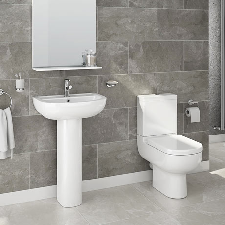 Cruze 4-Piece Modern Bathroom Suite
