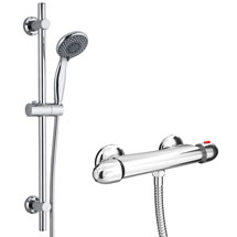 Cruze Bar Shower Package with Valve + Slider Rail Kit Medium Image