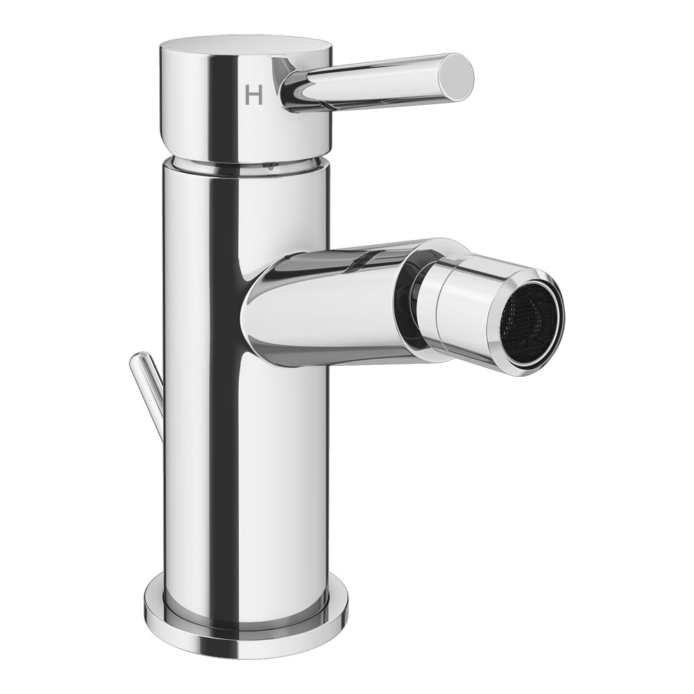 Cruze Bidet Mixer Tap with Pop Up Waste profile large image view 1