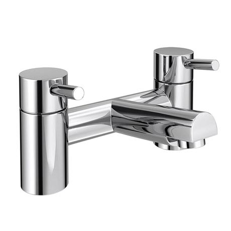 Bathroom Faucets Uk shop our cruze modern bath taps - chrome at victorian plumbing uk