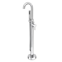 Cruze Freestanding Bath Taps with Shower Mixer Medium Image
