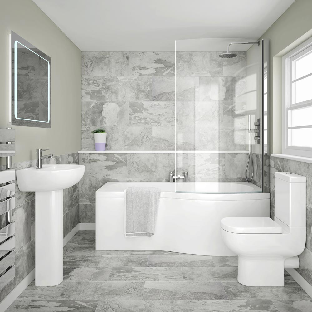 Modern Homes Modern Bathrooms Designs Ideas: Cruze Modern Shower Bath Suite