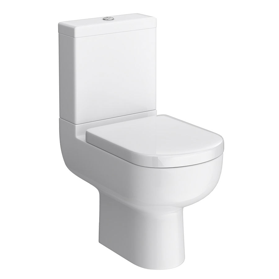 Cruze Modern Short Projection Toilet + Soft Close Seat Large Image
