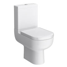 Cruze Modern Short Projection Toilet + Soft Close Seat Medium Image