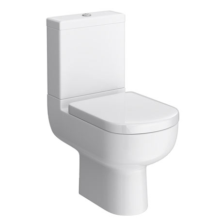 Cruze Modern Short Projection Toilet + Soft Close Seat