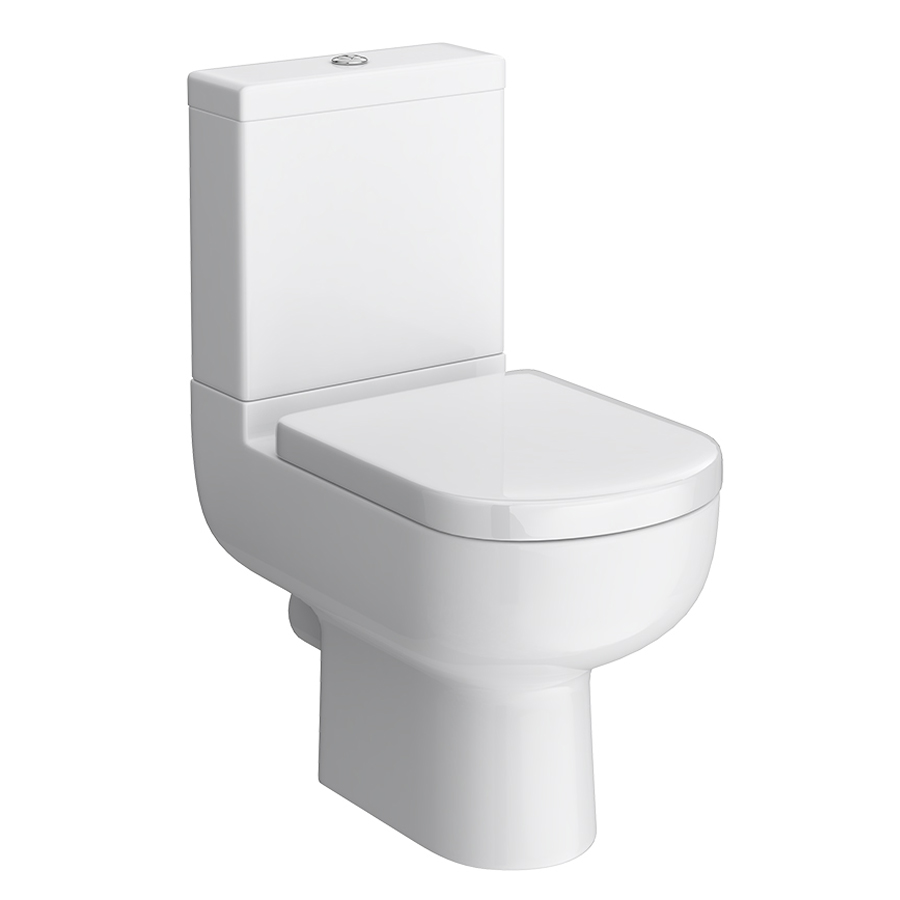 Cruze Modern Short Projection Toilet with Soft Close Seat Large Image