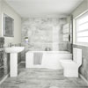 Cruze Modern Shower Bathroom Suite Small Image