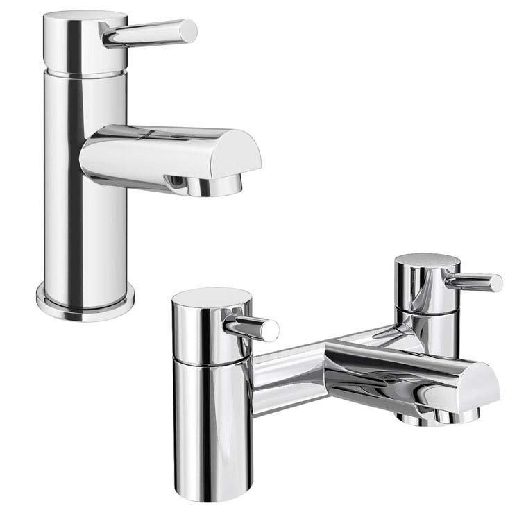 Bath and Sink Taps Set | Bathroom Tap Packs | Victorian Plumbing
