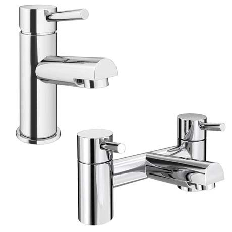 Cruze Modern Tap Package (Bath + Basin Tap)