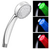 Cruze Round LED Chrome Shower Handset profile small image view 1