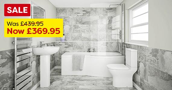 Cruze Modern Bathroom Suite Offer