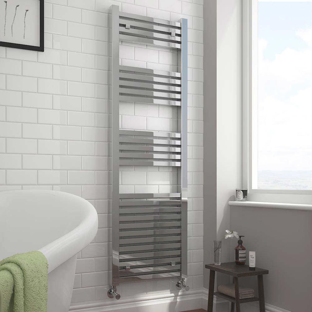 Cube Heated Towel Rail - KUB516C-EHK | Choosing The Best Radiators To Buy