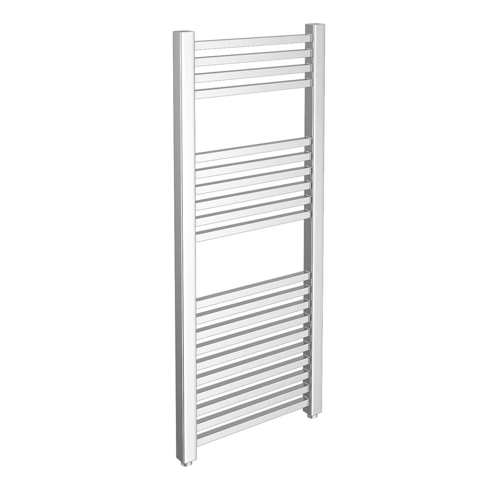 Cube Heated Towel Rail - Chrome (500 x 1200mm) Large Image