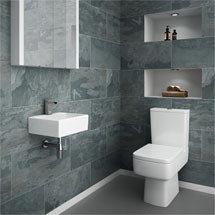 Cubetto Cloakroom Suite Medium Image