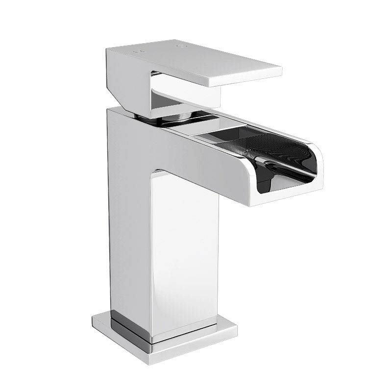 Cubetto Wall Hung Basin Package - 1 Tap Hole profile large image view 2