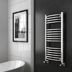 Curved Ladder Towel Rails