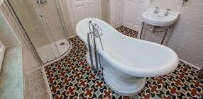 Customer Creations: Budapest Bathroom Project