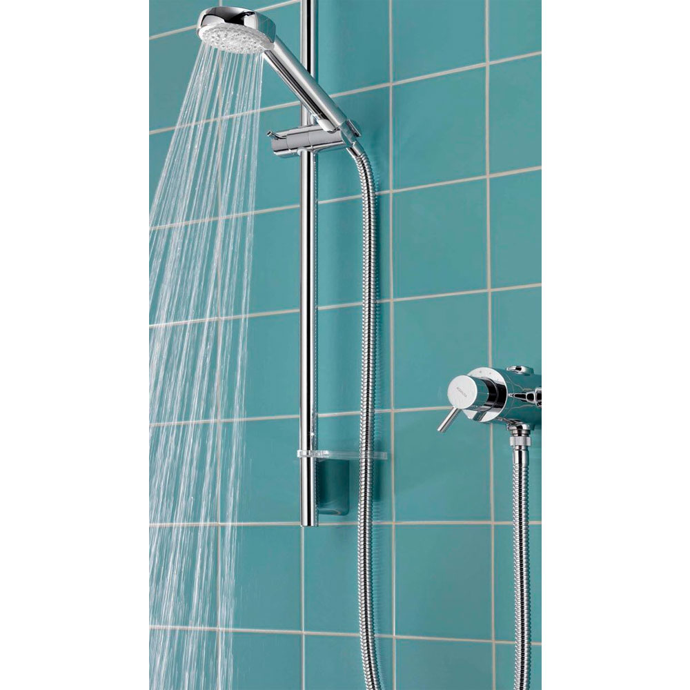 Aqualisa - Siren SL Exposed Thermostatic Shower Valve with Slide Rail Kit - SRN001EA Feature Large Image