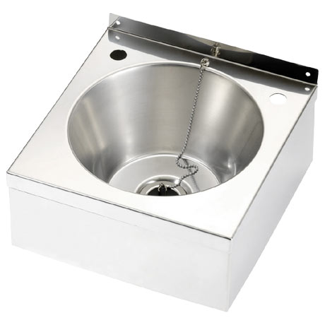 Franke Model A D20161N Stainless Steel Washbasin with Apron Support & Waste Kit