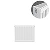 Type 22 H300 x W400mm Compact Double Convector Radiator - D304K profile small image view 1