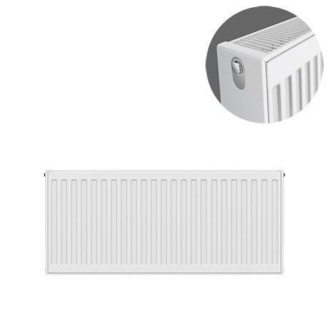 Type 22 H300 x W800mm Compact Double Convector Radiator - D308K
