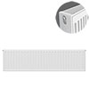 Type 22 H300 x W1000mm Compact Double Convector Radiator - D310K profile small image view 1