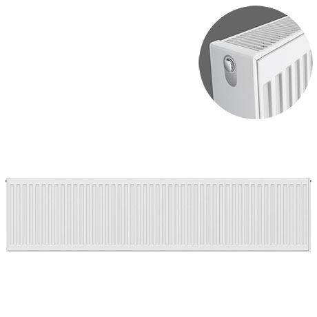 Type 22 H300 x W1600mm Compact Double Convector Radiator - D316K