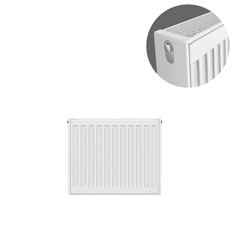 Type 22 H400 x W400mm Compact Double Convector Radiator - D404K