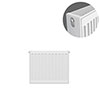 Type 22 H400 x W400mm Compact Double Convector Radiator - D404K profile small image view 1