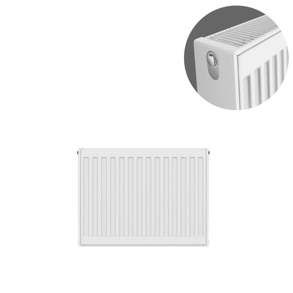 Type 22 H400 x W500mm Compact Double Convector Radiator - D405K