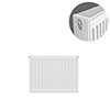 Type 22 H400 x W500mm Compact Double Convector Radiator - D405K profile small image view 1