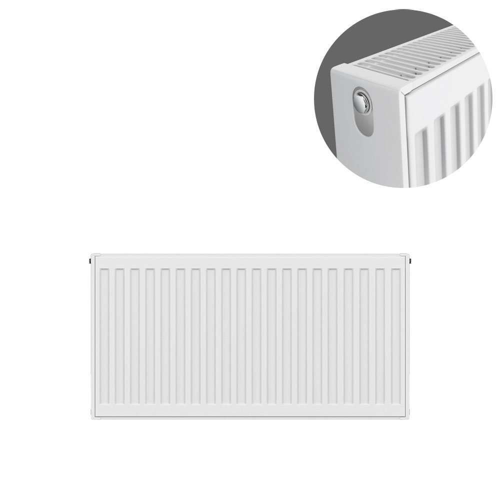 Type 22 H400 x W700mm Compact Double Convector Radiator - D407K