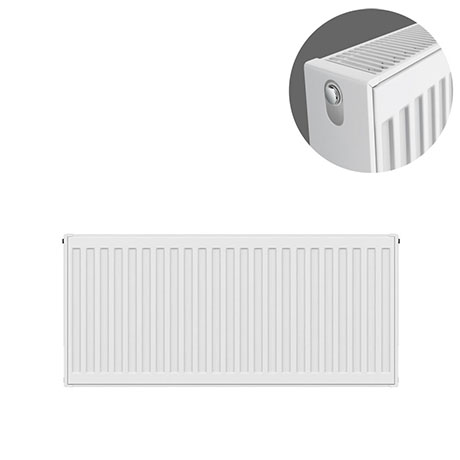 Type 22 H400 x W800mm Compact Double Convector Radiator  - D408K