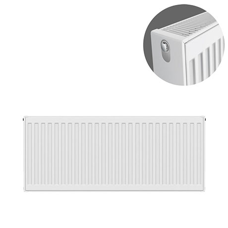 Type 22 H400 x W900mm Compact Double Convector Radiator - D409K
