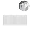 Type 22 H400 x W900mm Compact Double Convector Radiator - D409K profile small image view 1