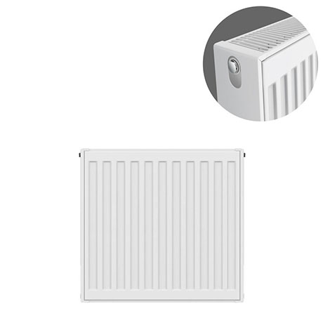 Type 22 H500 x W400mm Compact Double Convector Radiator - D504K